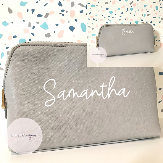 Personalised Bridal Accessory Bags