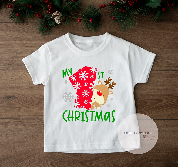 My First Christmas Top