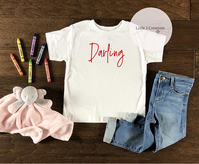 Child's Darling Tee