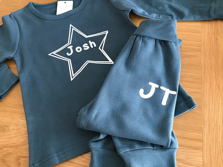Star and Name - Personalised Lounge Set