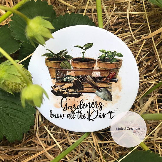 Gardeners Know All The Dirt Coaster