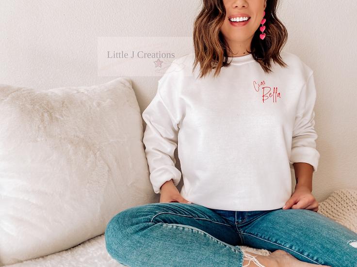 Ciao Bella Sweater - Small Design