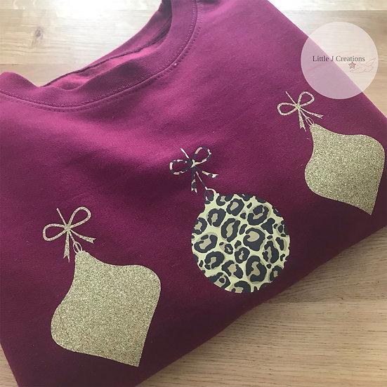 Christmas Bauble Sweatshirt