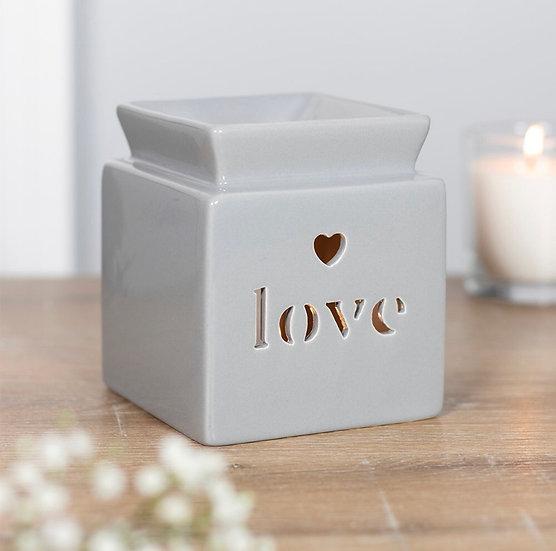 Love Ceramic Cut Out Burner