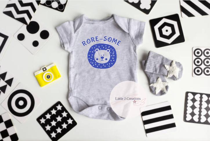 Rore-Some Baby Vest