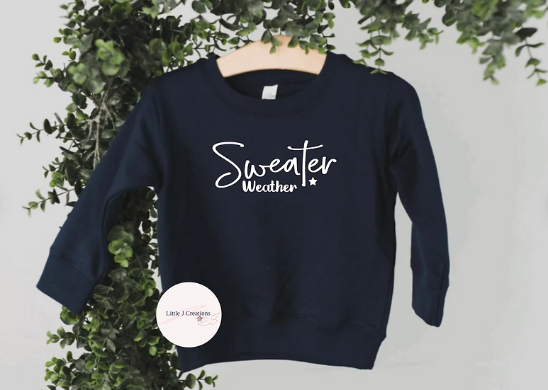 Babies Sweater Weather Sweater