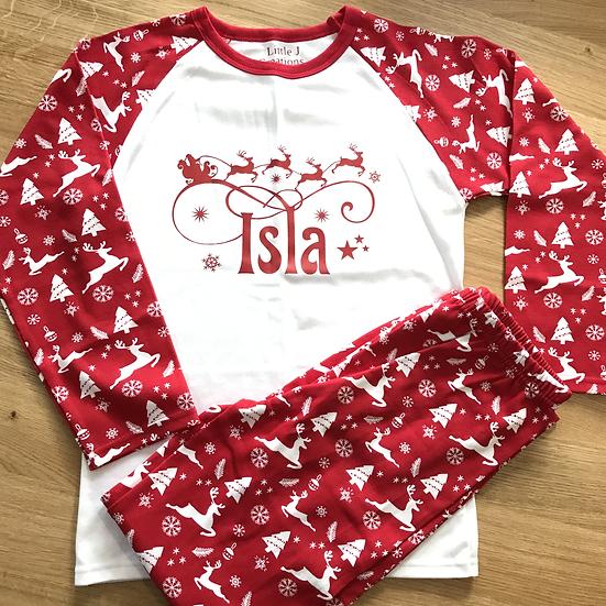 Santa Sleigh Pyjamas