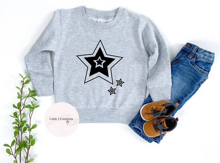 Child's Star Sweater