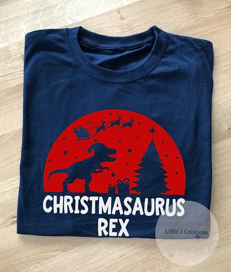 Child's Christmasaurus Rex T-Shirt