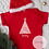 Thumbnail: Personalised Christmas Tree Baby Vest