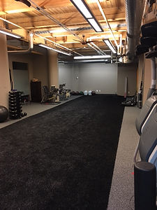 Lateral Fitness Flow Physical Therapy athletic room