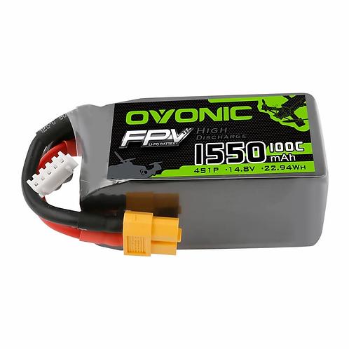 OVONIC 1550mAh 4S 14.8V 100C