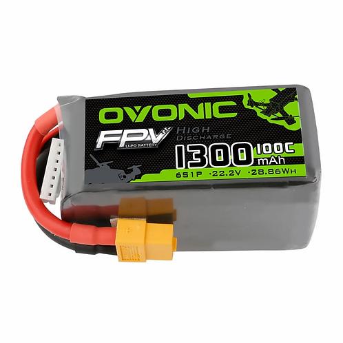 OVONIC 1300mAh 6S 22.2V 100C