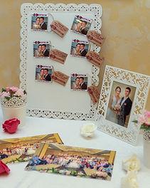 Печать фото на свадьбе. Печать фото день