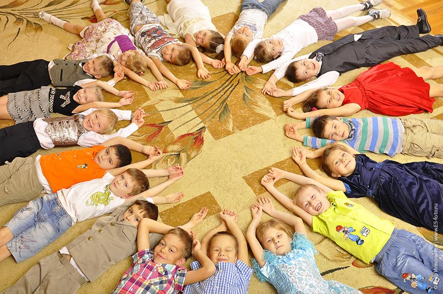 фото и видеосъёмка в детских садах.