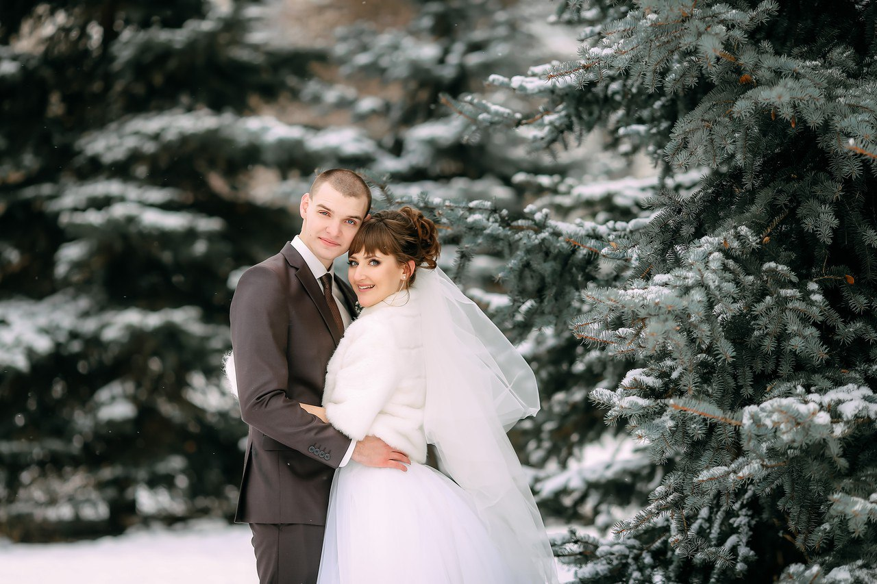 Свадьба зимой Тюмень