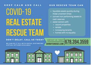 COVID R.E. Rescue Team postcard_front.PN
