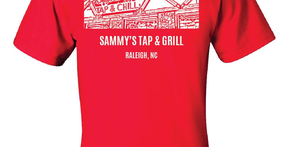 "Red ""Tap & Chill"" T-Shirt"