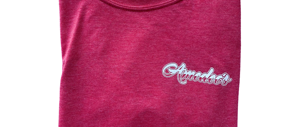 Short Sleeve Light Red T-Shirt
