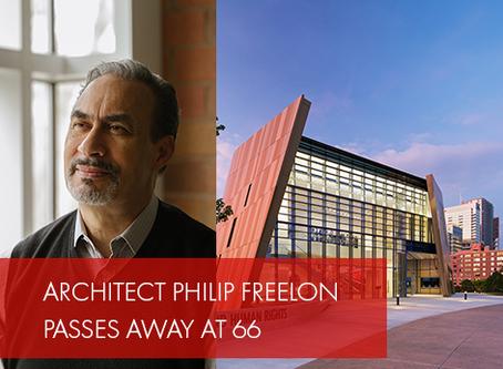 Accomplished Architect Philip Freelon Passes Away at 66