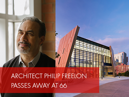 Accomplished Architect Philip Freelon Passes Away at 66