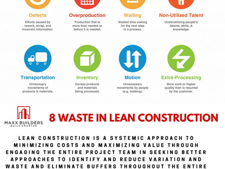 8 waste in lean construction
