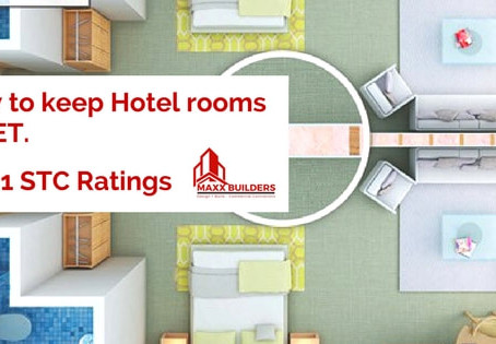 How to keep your hotel rooms quiet! | Part 1: STC Rating