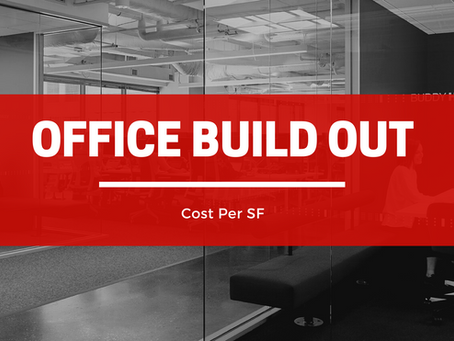 Office Build-out Cost Per SF