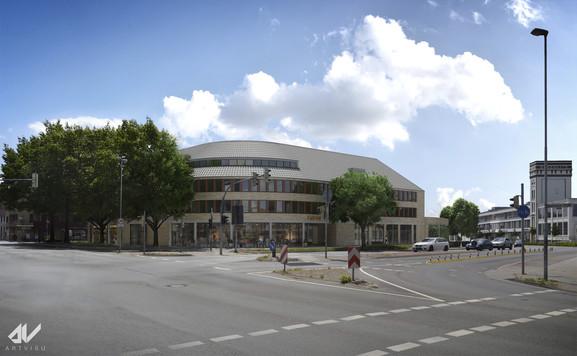 Wohn-und Geschäftshaus in Nordhorn