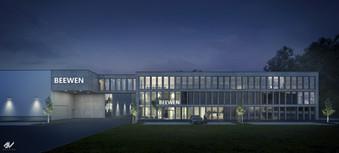 Entwurf Bürogebäude Beween