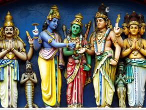 Les divinités hindoues et le Yoga