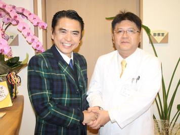志垣太郎氏来院