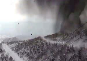 大寒波と火山噴火