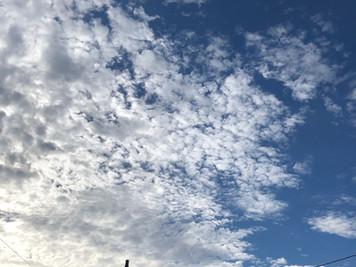 うろこ雲とひつじ雲