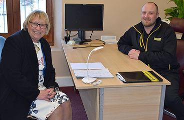 Dartmoor Energy Parliment Offical Visit Renewable Energy