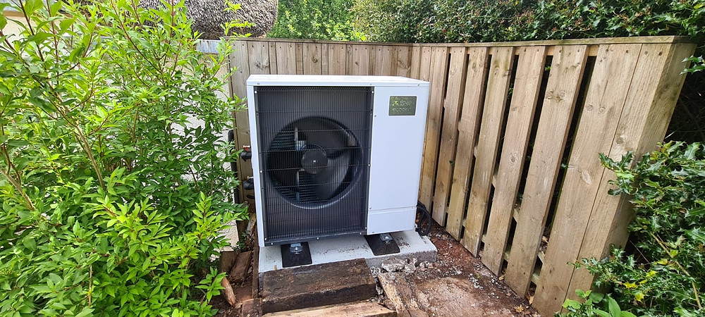 Air ground water source heat pump