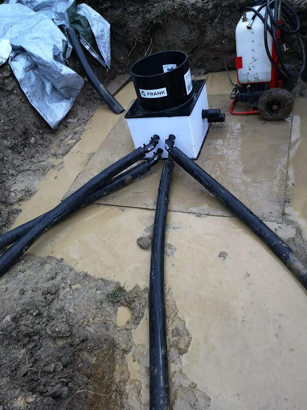Bore Hole Heat Pump Devon