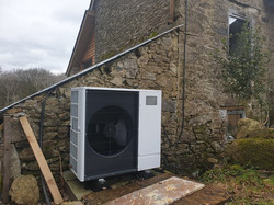 Rural Air Source Heat Pump