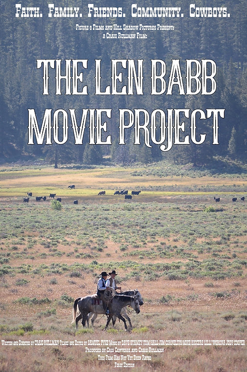 Len Babb Movie Project First Edition Poster