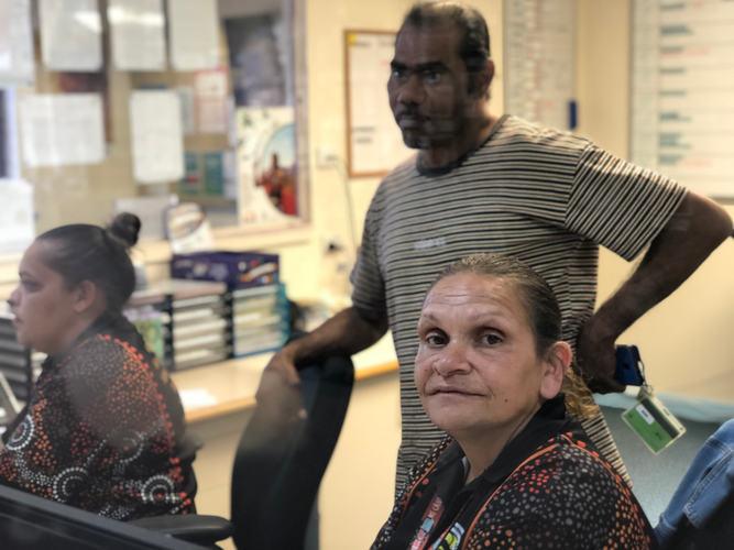 Yadu Health Reception staff