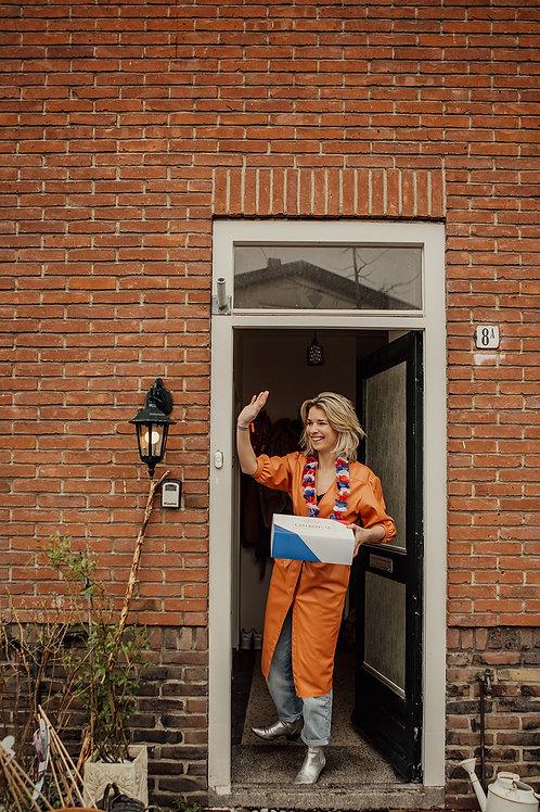 Oranje Familybox (4 - 6 pers.)