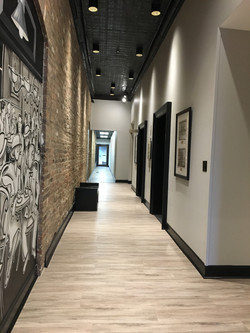 Historic 911 College Street full remodel and design by Sarah Smalling Interiors, LLC. Located in dow