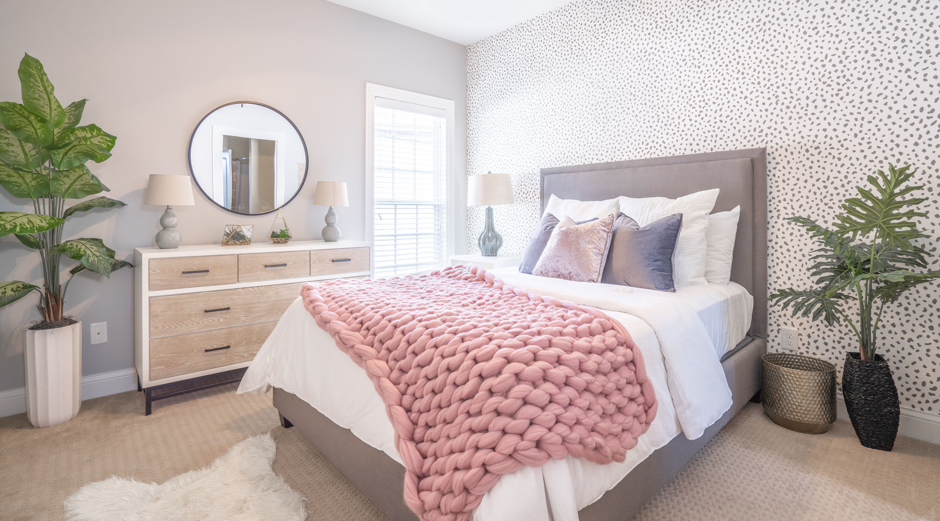 Teen Bedroom Suite Design by Sarah Smalling Interiors, LLC located at Boulder Court in Bowling Green
