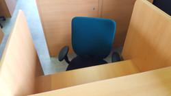 自習室用に有名国内メーカーのオフィスチェア