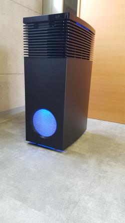 自習室AOGはPM3.0対応の業務用高性能の空気清浄機でクリーン空間
