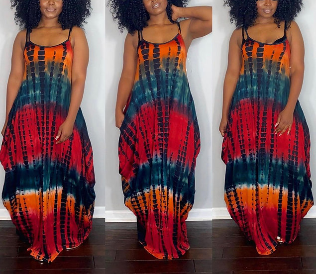Over Sized Maxi Dress