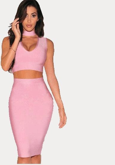 2 Piece Pink Set