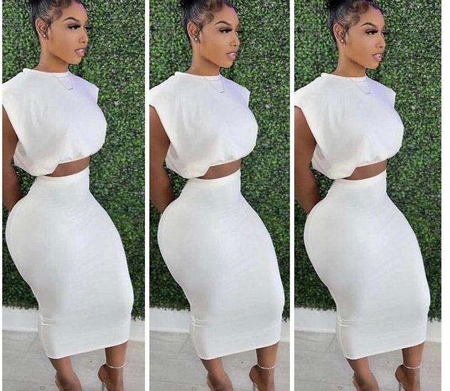 2 Pc Skirt Set