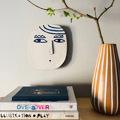 LET´S FACE IT eyebrows walldecoration