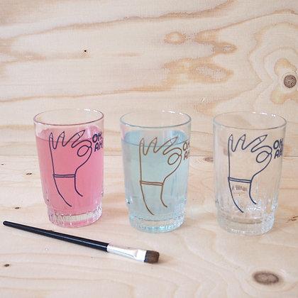 PENHAND glass